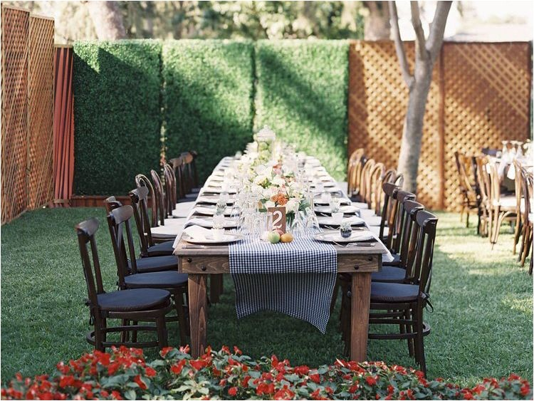 home wedding reception secrets