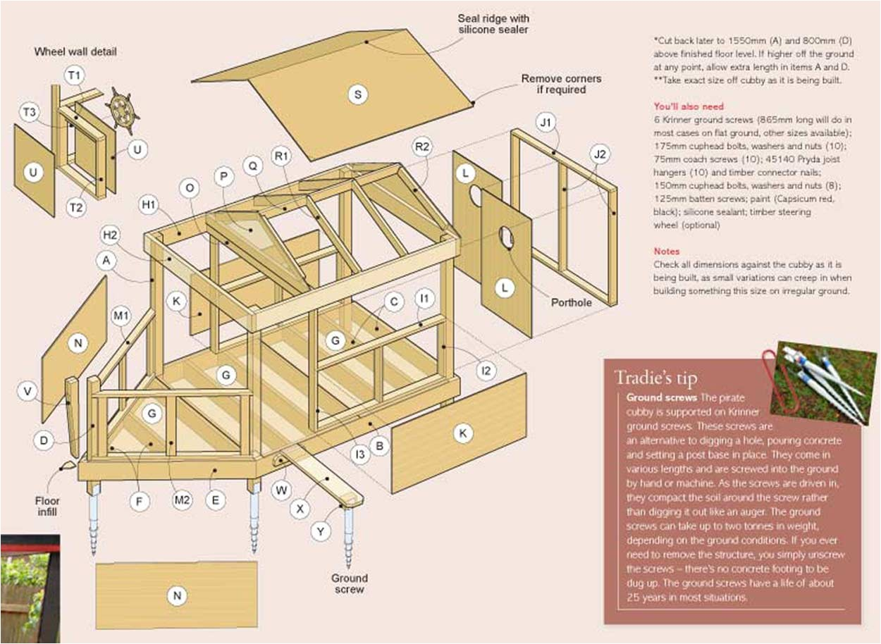 wooden cubby house plans pdf build wood mantels 2