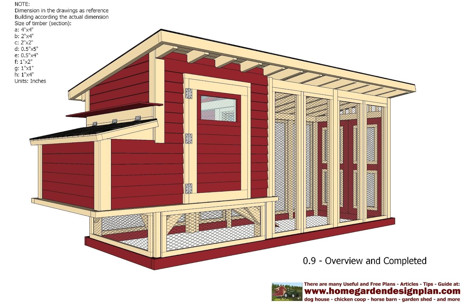 free chicken house plans pdf
