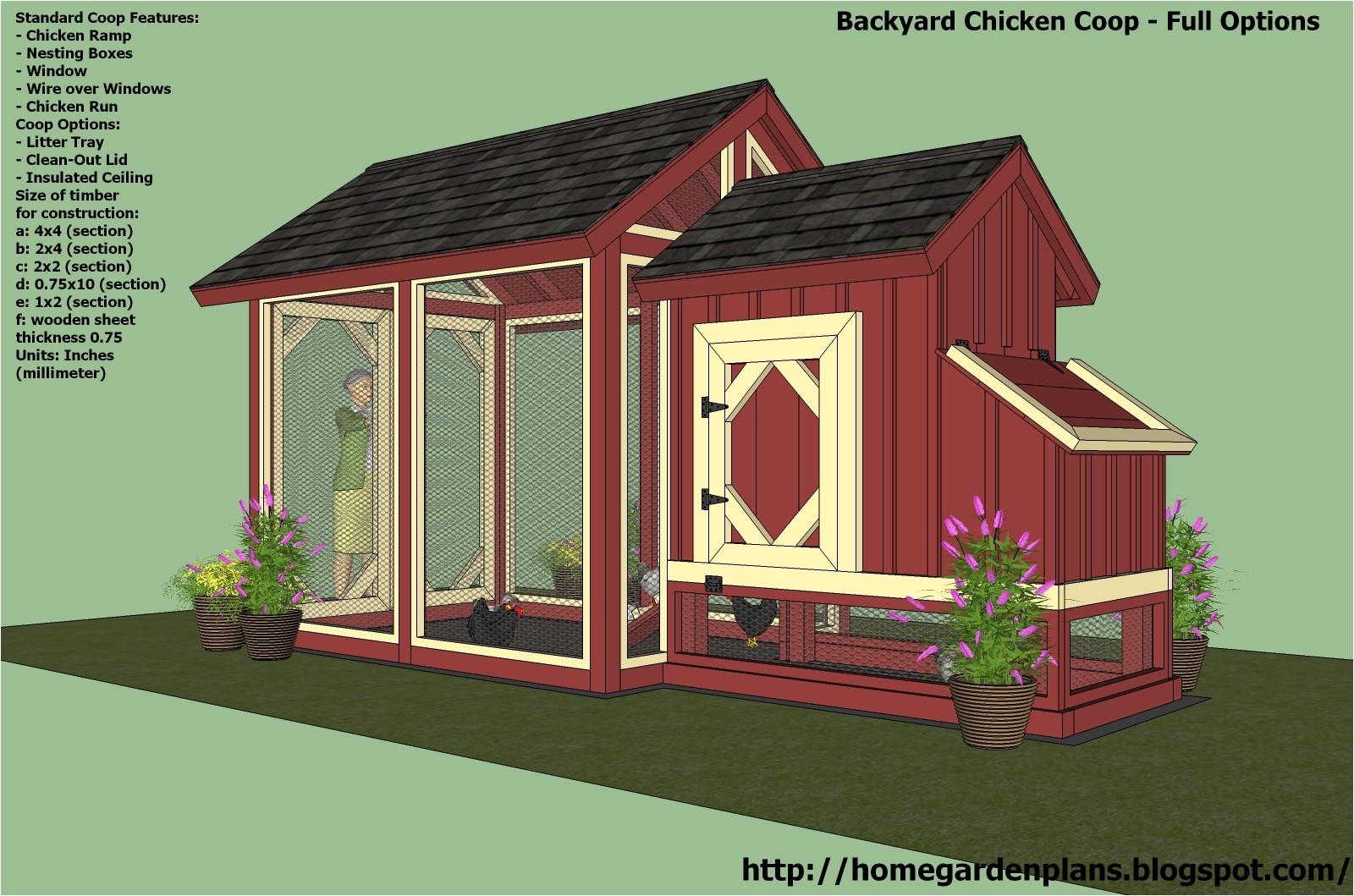 mobile chicken coop plans