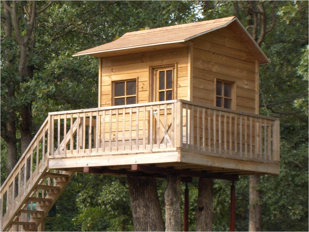 childrens playhouse treehouse plans blueprints for building your 221902789158