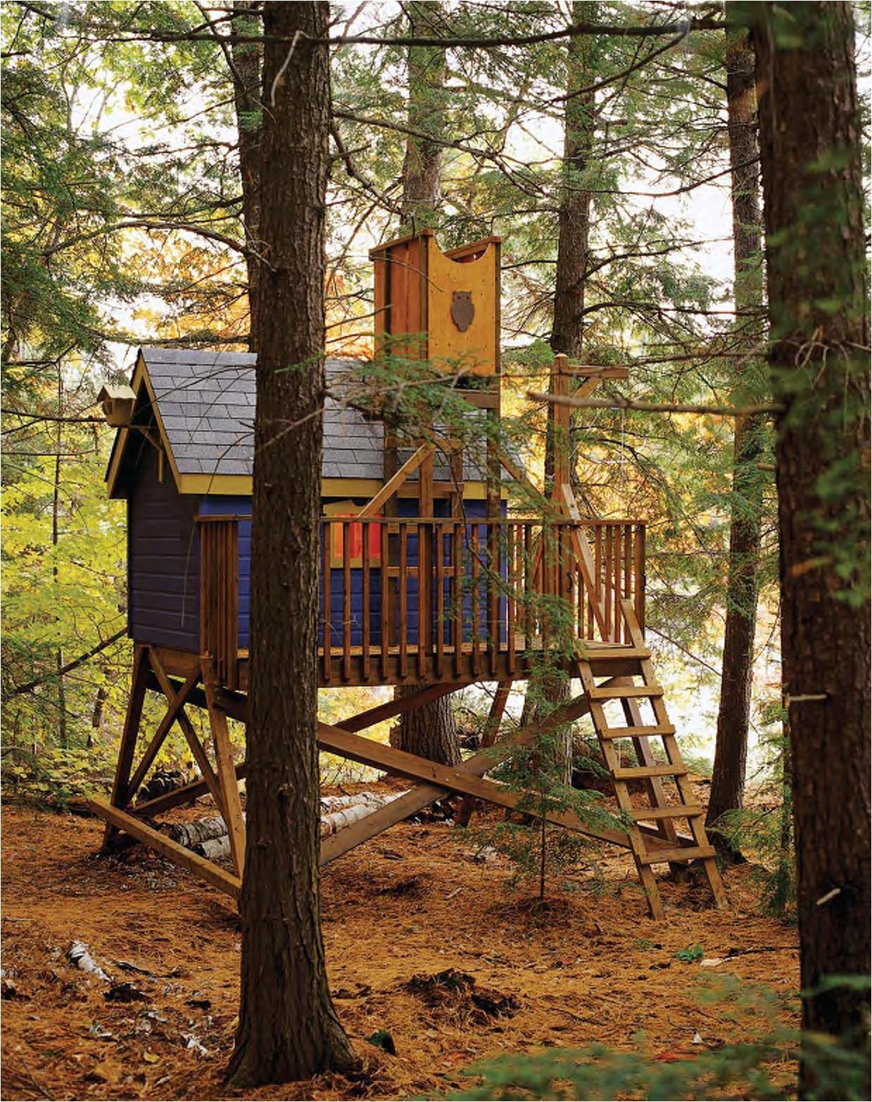 free tree house wood plans