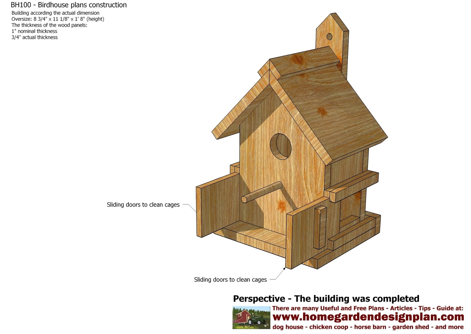 bird house plans youtube