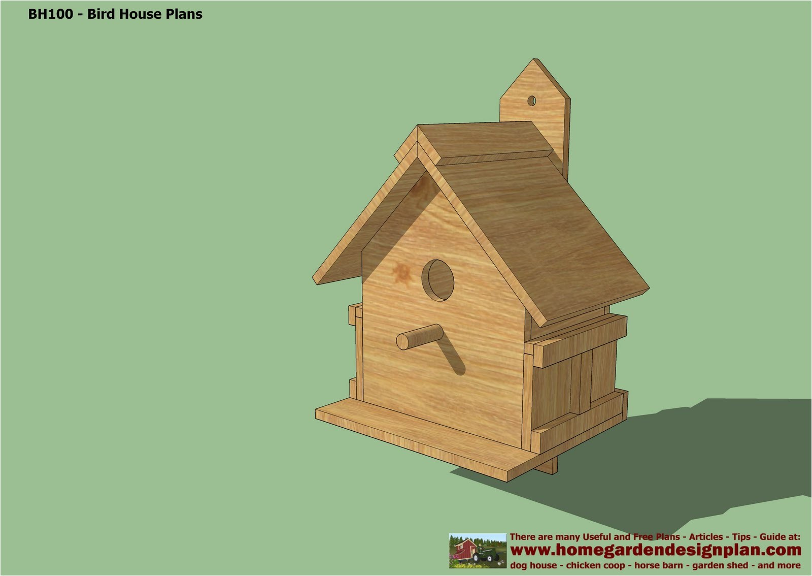 guide easy free birdhouse plans