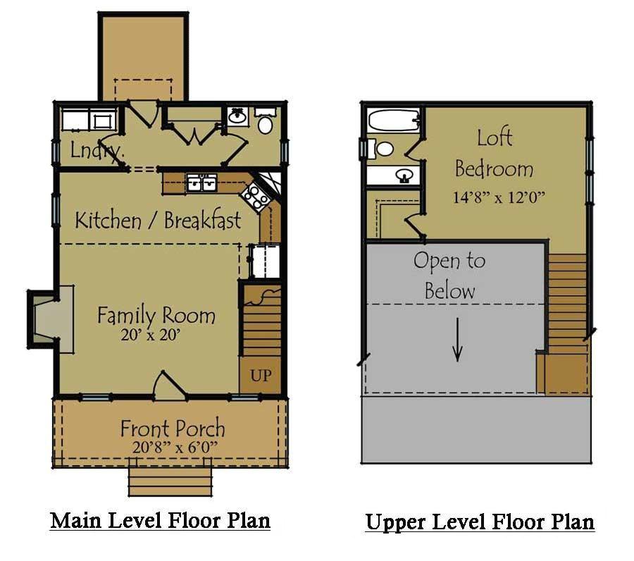 backyard guest house floor plans 2