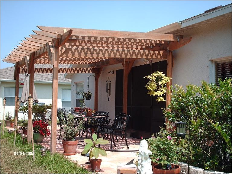 incredible plans build a pergola attached to house