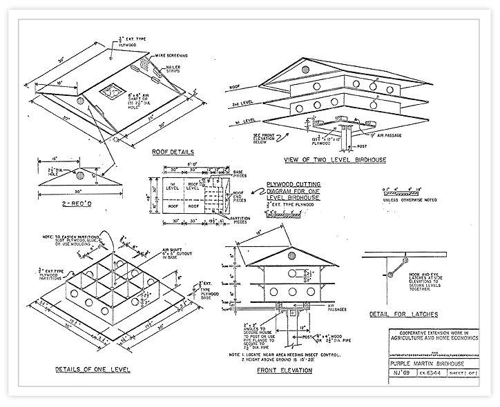 free martin house plans t 14