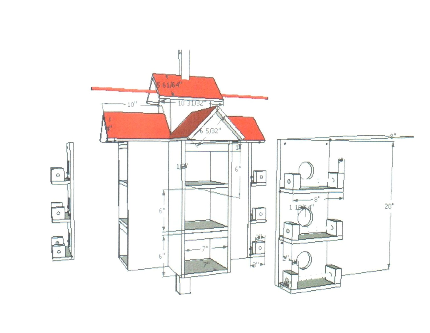 Plans for Purple Martin House Plans for A Martin Bird House Home Style Blog Wooden