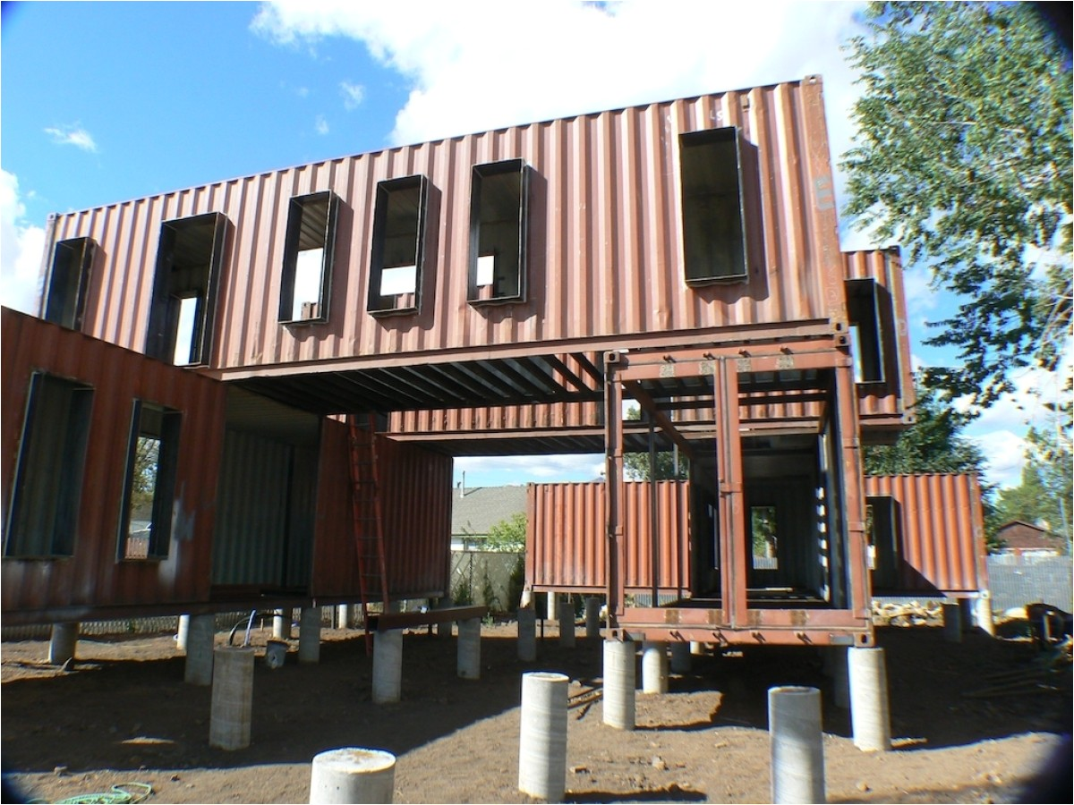 shipping container office plans