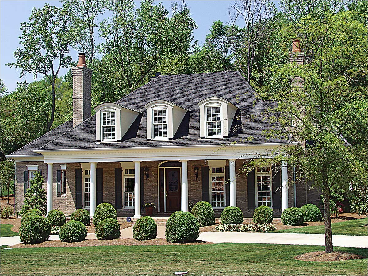 Plantation Style Home Plans Country Plantation Style House Plan 17690lv 1st Floor