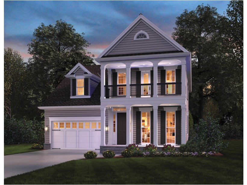 small modern plantation style house plans