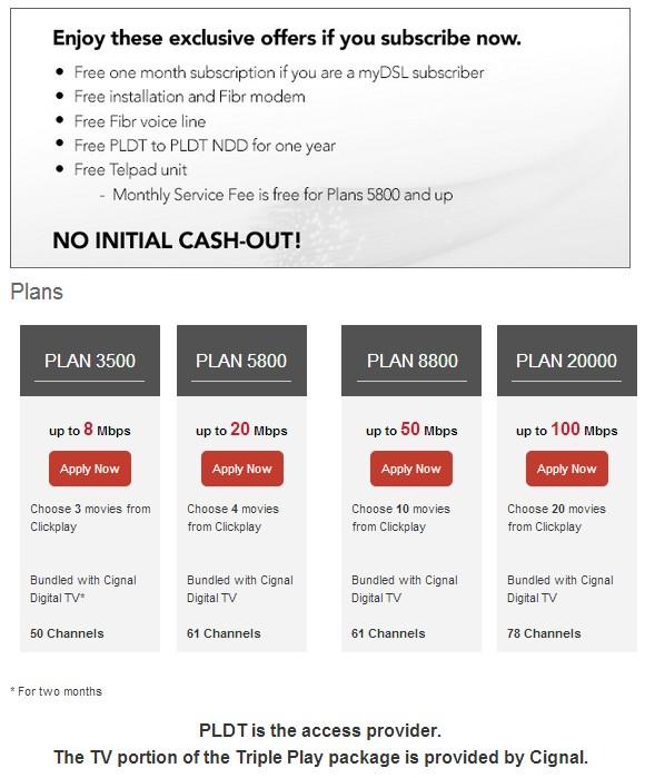 tech news pldt home now offers fibr cignal digital tv