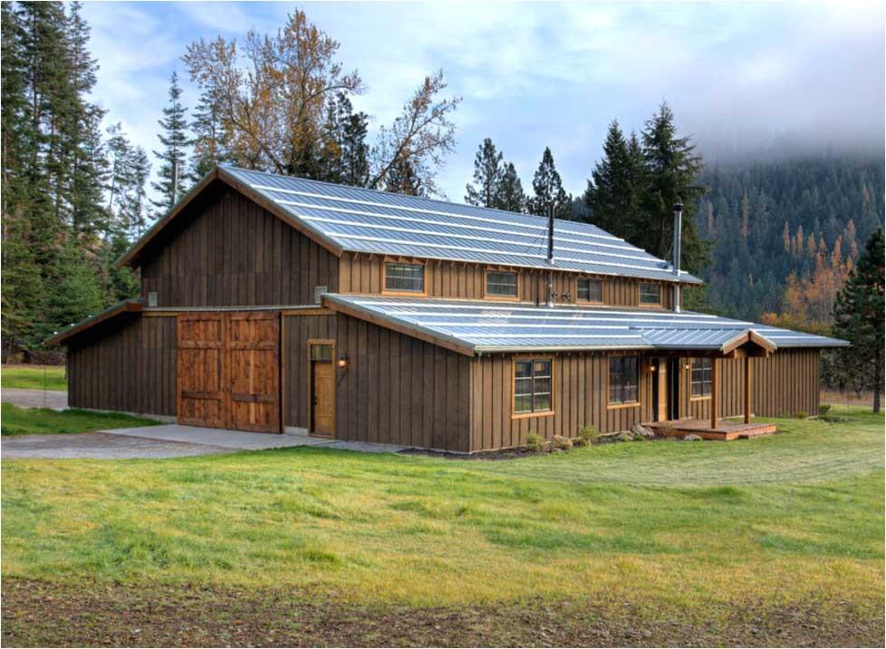 pole barn style homes