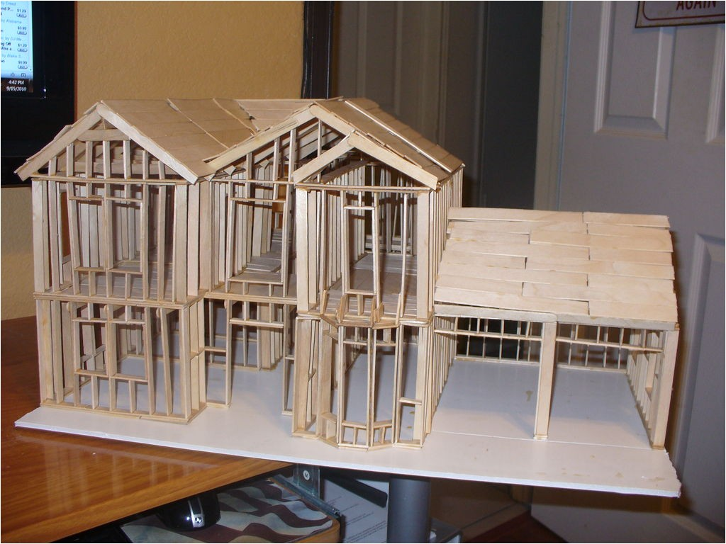 houseplans glitven popsicle stick house plans