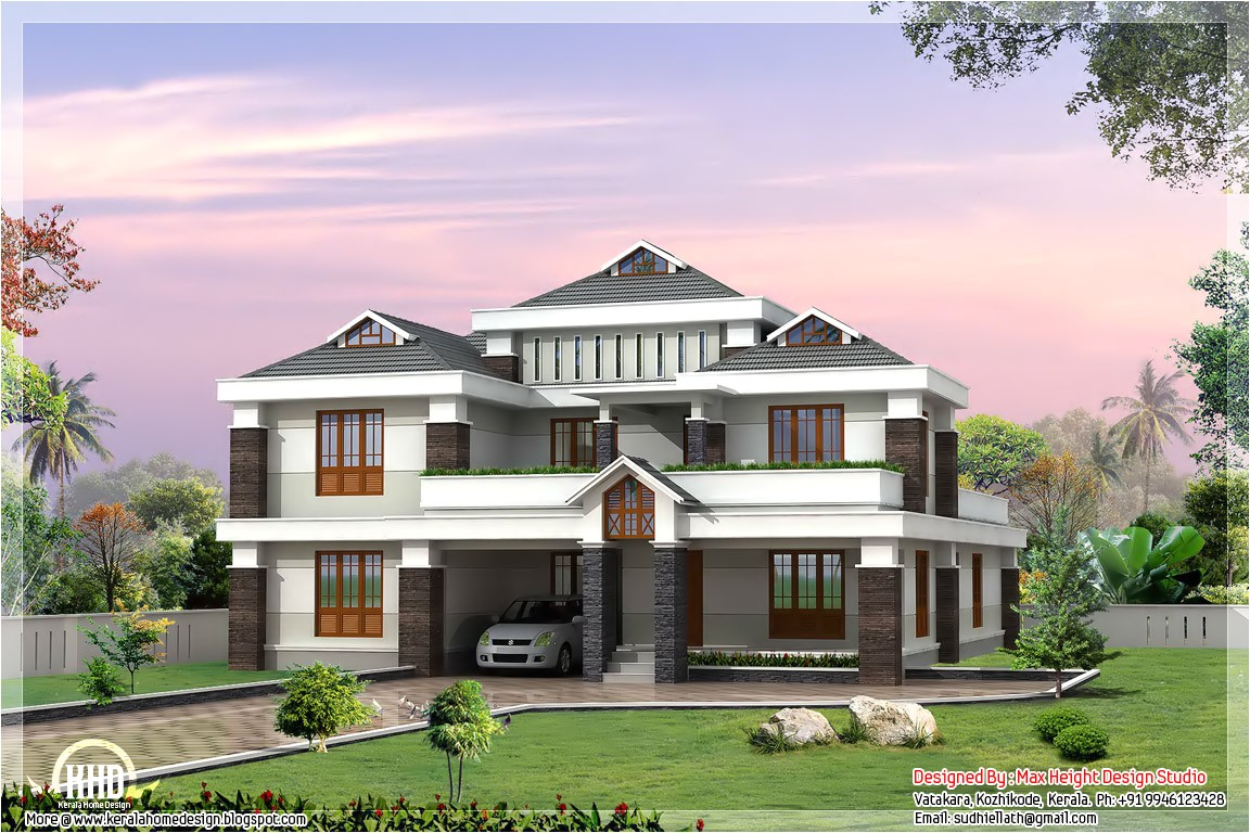 indian style luxury house design