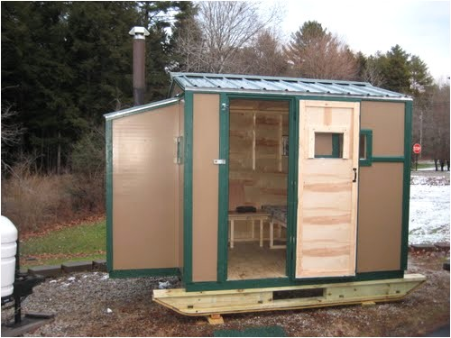 portable ice shack plans awesome free ice shanty plans portlandbathrepair