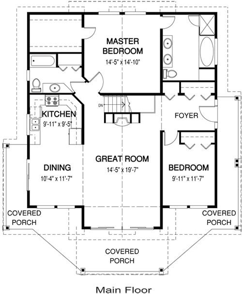 post beam homes floor plans