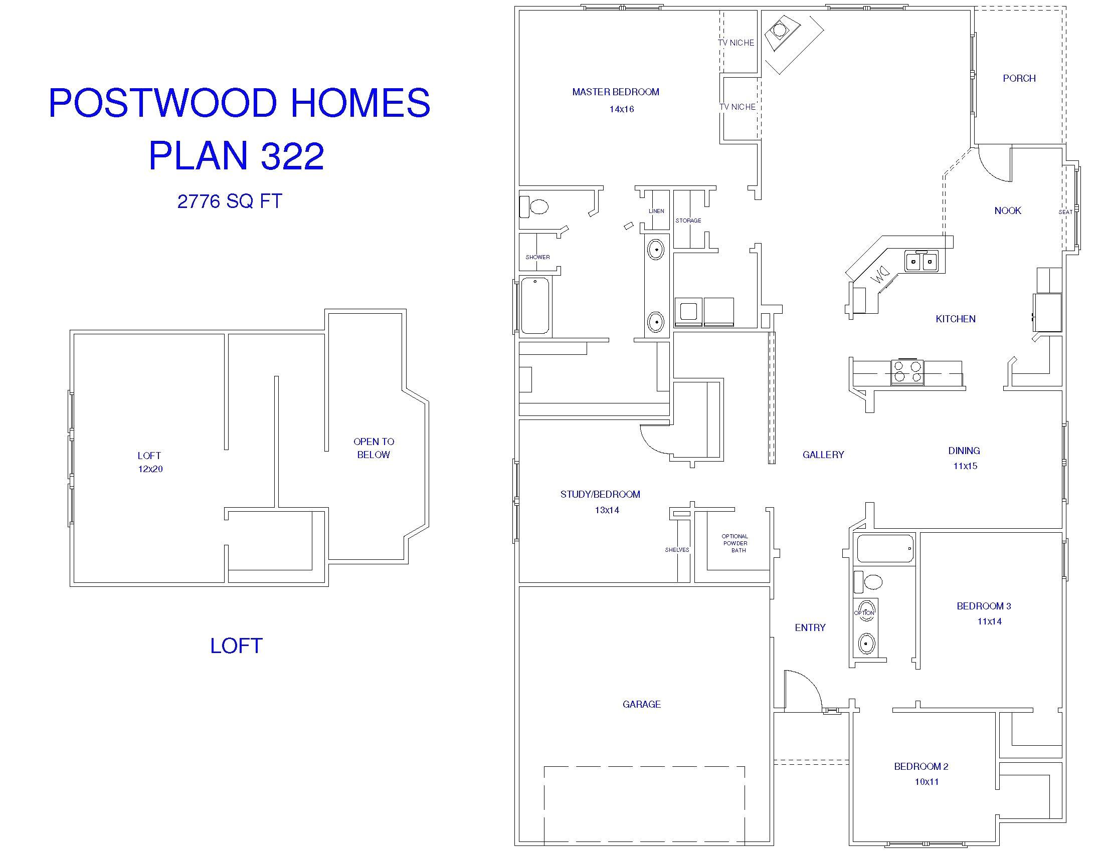 postwood homes katy