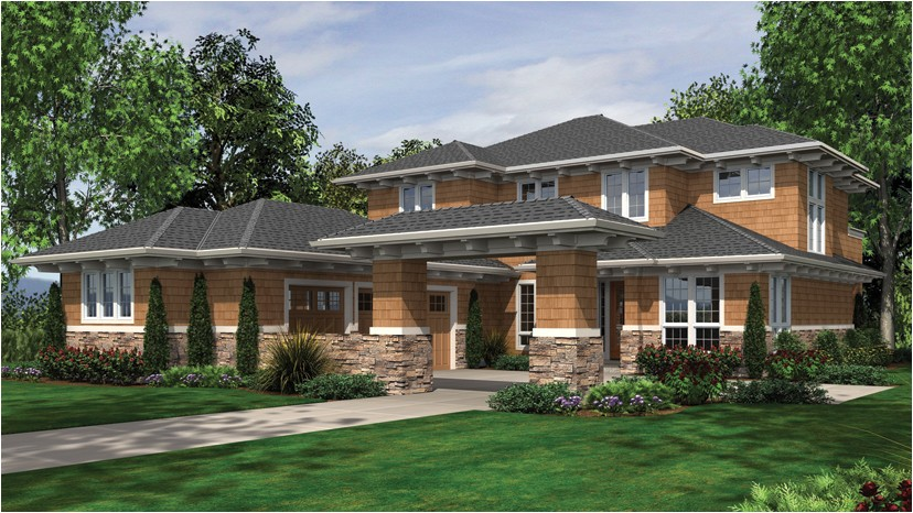 chic modern prairie style house plans