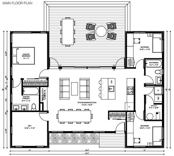 prefab mini house plans