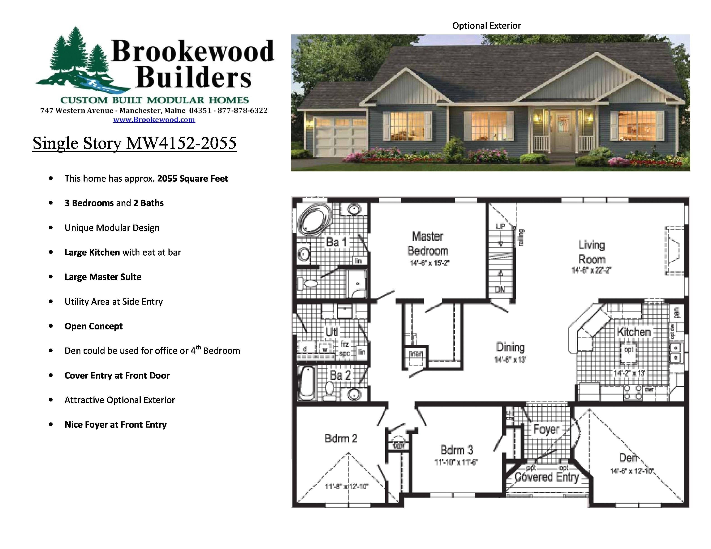 elegant large modular home floor plans