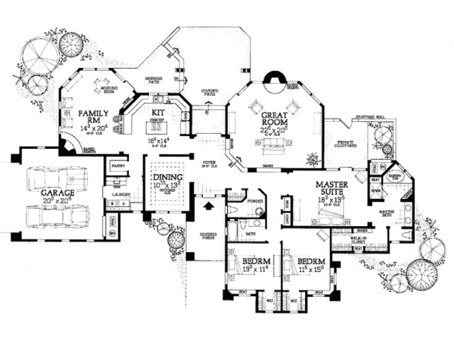 pueblo style home plans nice idea 8 eplans adobe house plan endearing pictures