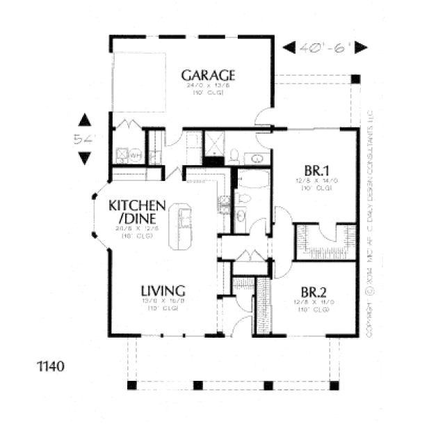 pueblo style home plans southwest house plan santa fe 11 127 flr gorgeous floor