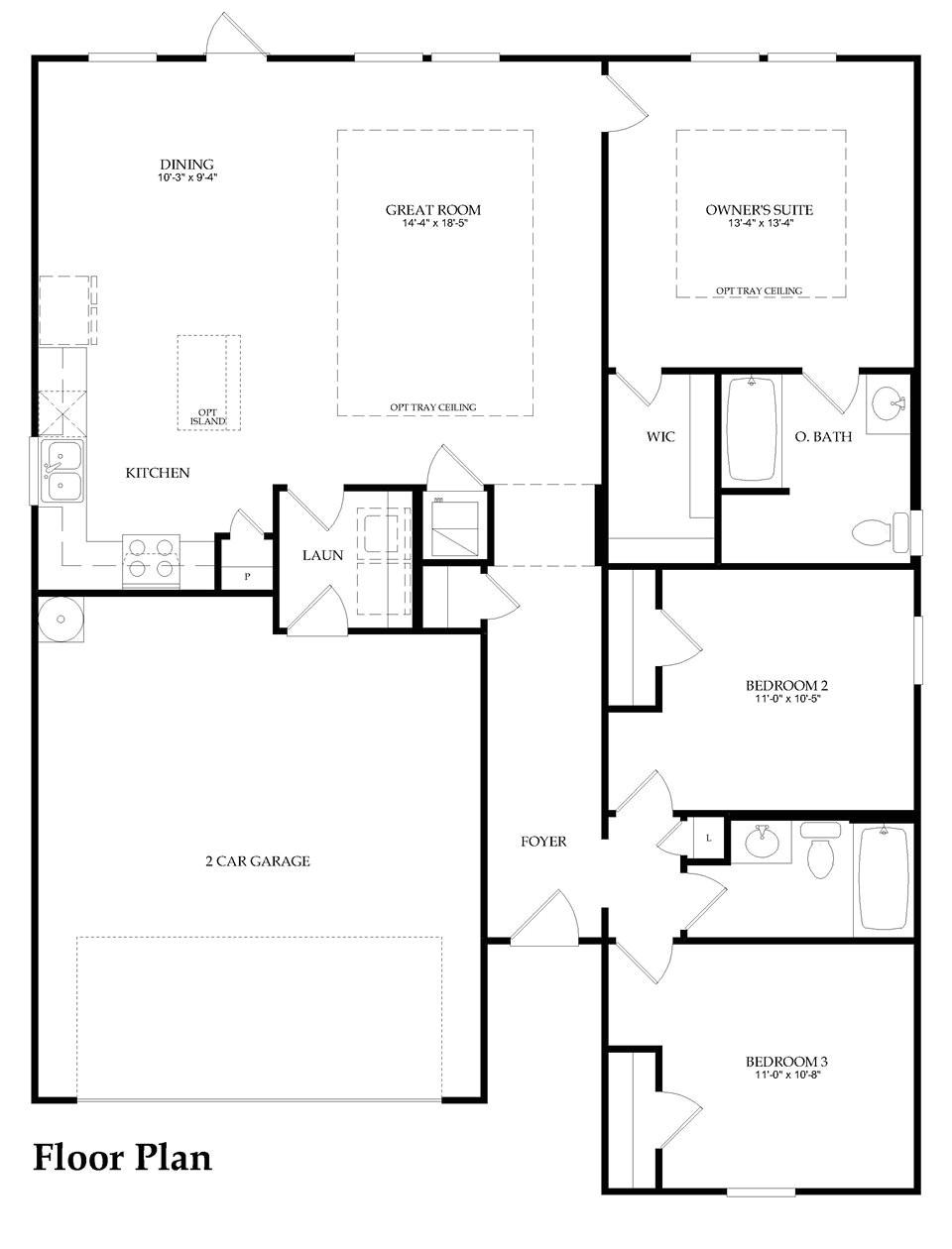 pulte home floor plans