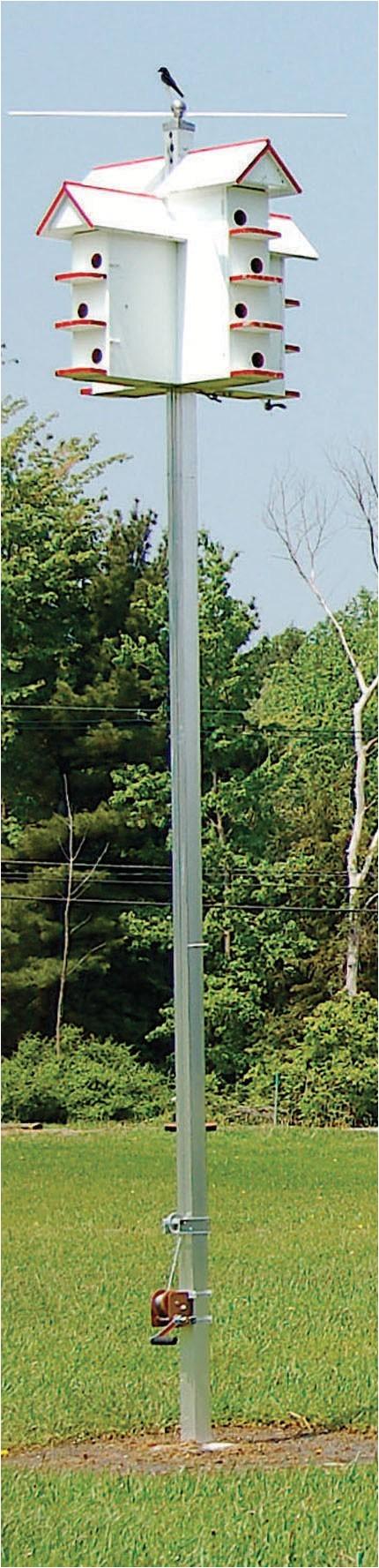 aluminum t 14 martin house pole