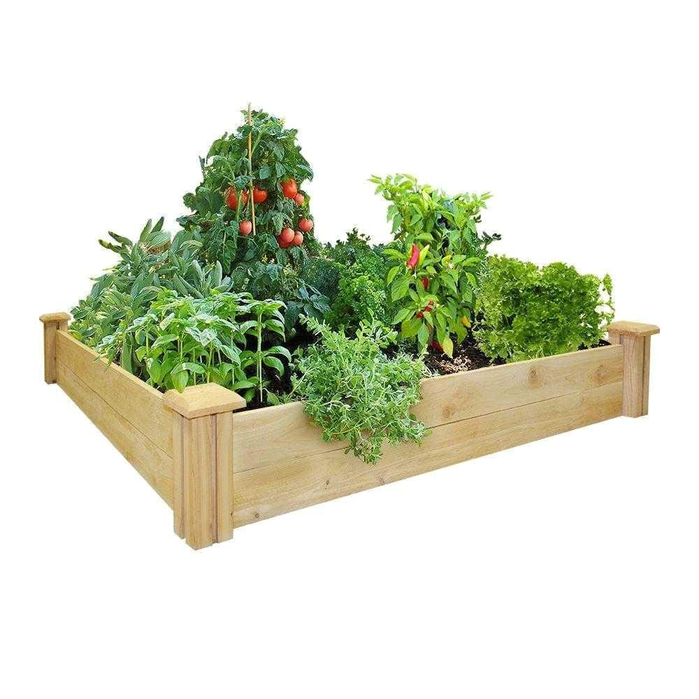 what type of wood should i use for my organic container garden 9065000000008gh