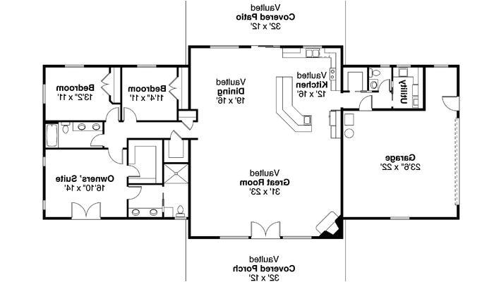 rambling ranch house plans