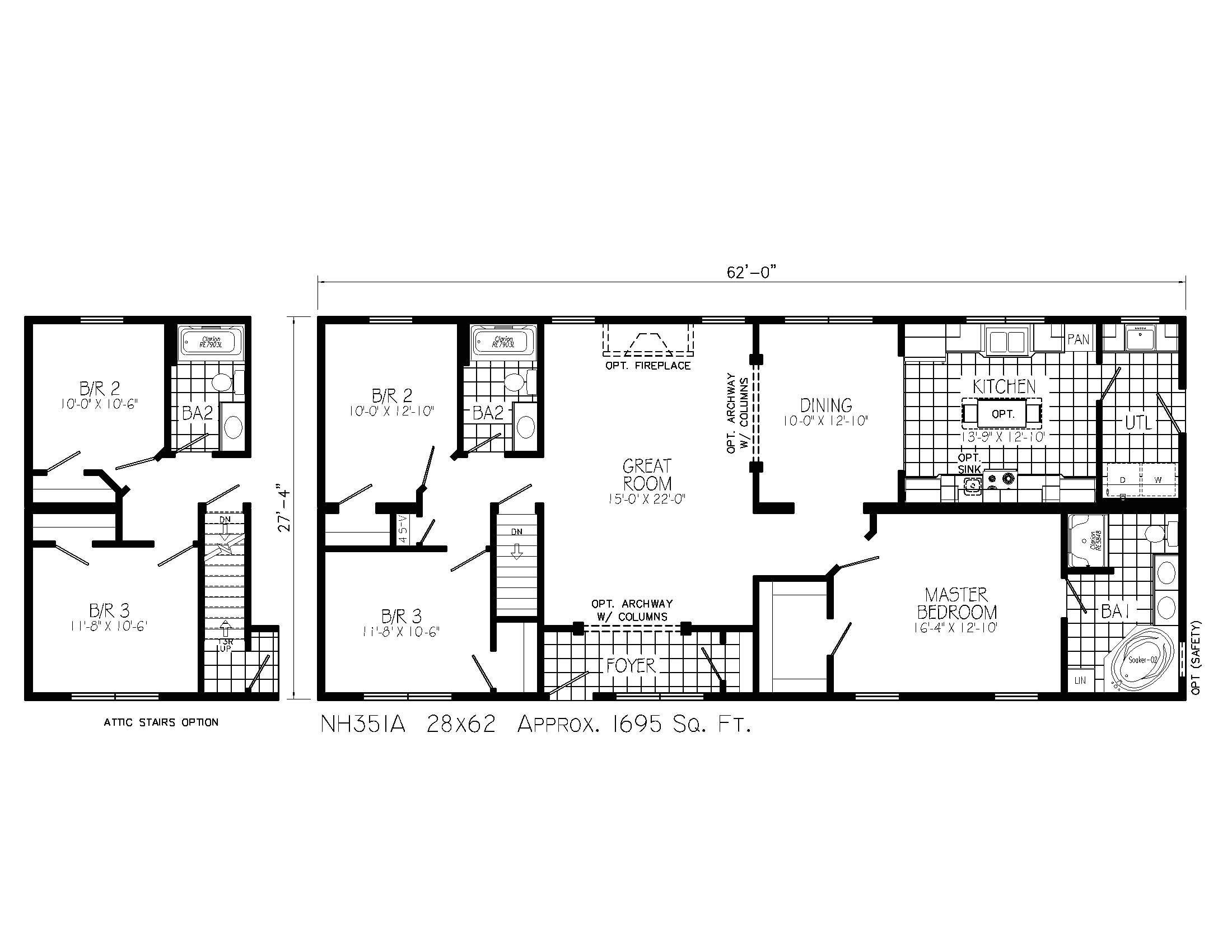 custom ranch house plans