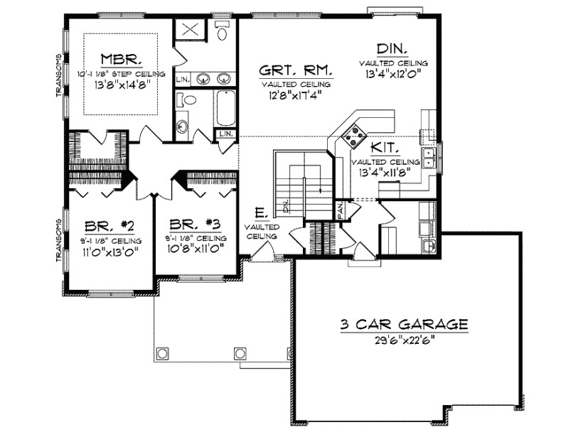marvelous open home plans 11 ranch homes with open floor plans