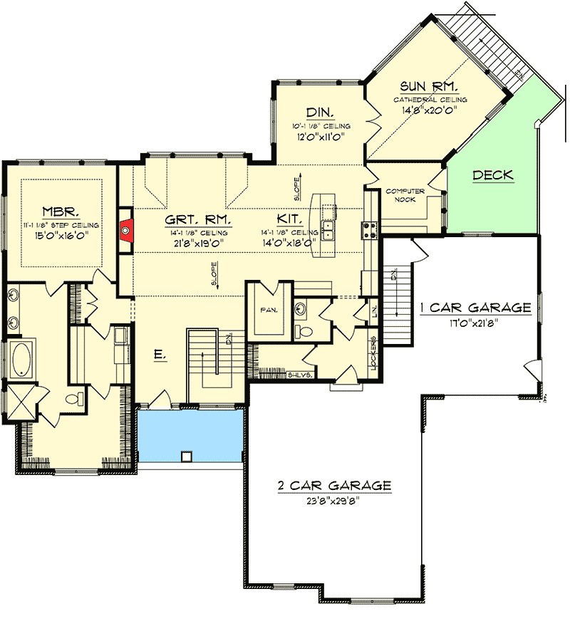 28 ranch house plans with walkout ranch homeplans 4e20fab07311ed58