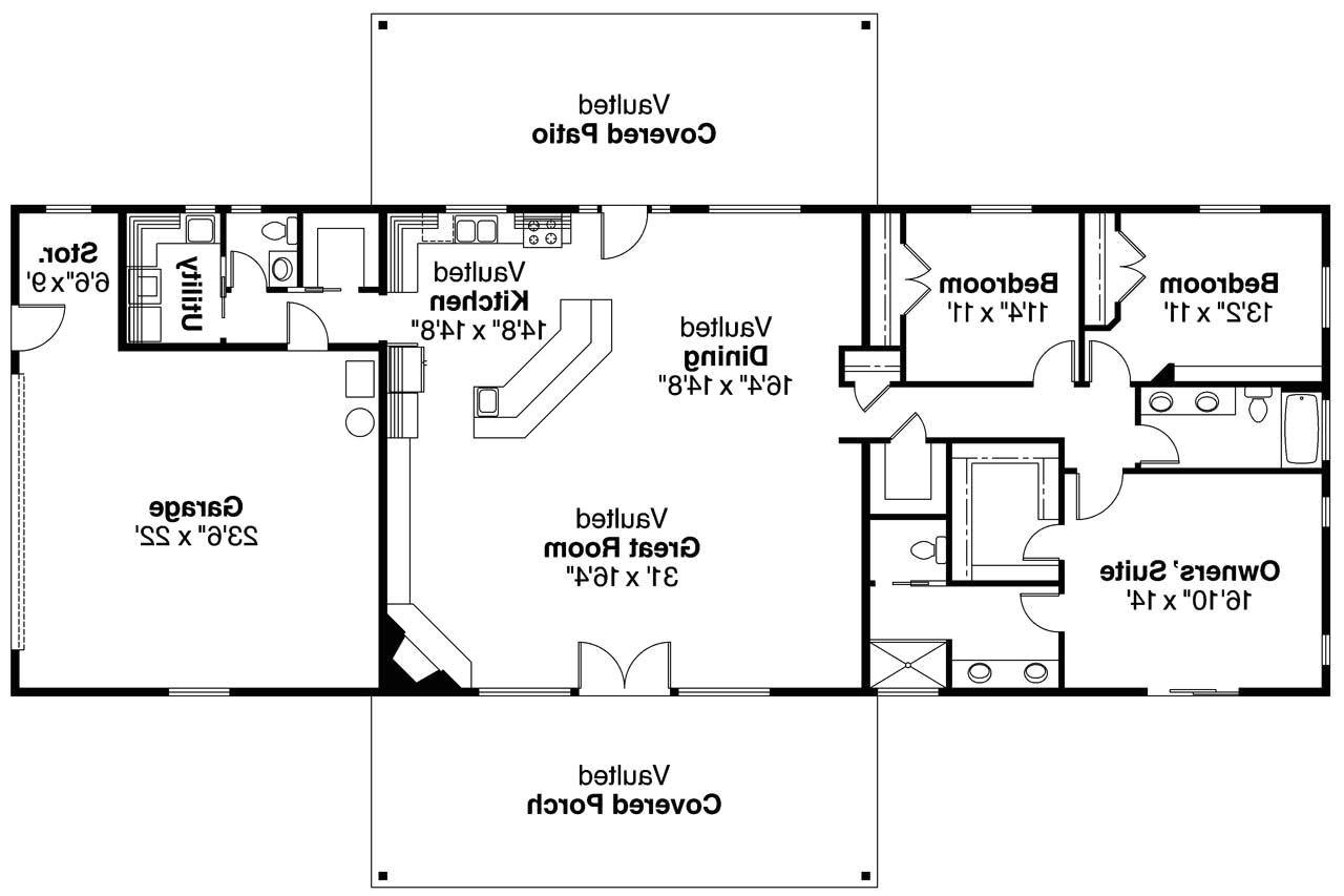 basement ranch house plans
