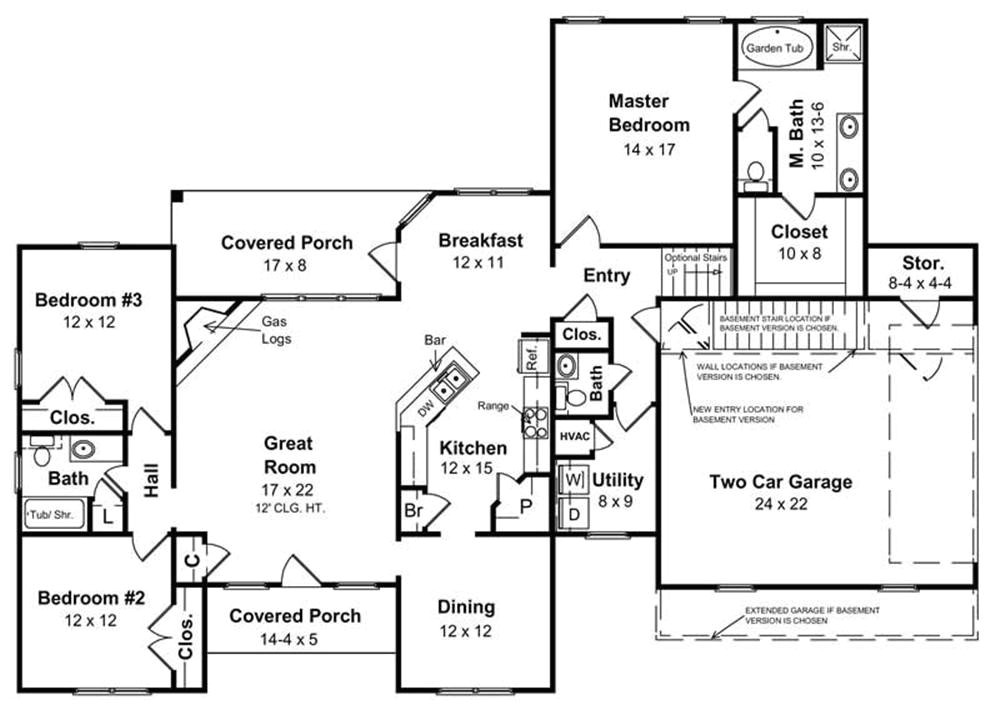 Ranch Home Plans with Basement House Plans for A Ranch Style Home Inspirational Basement