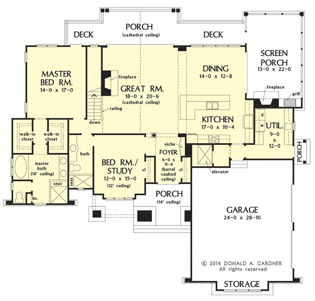 ranch house floor plans with walkout basement lovely house plan walkout basement plans