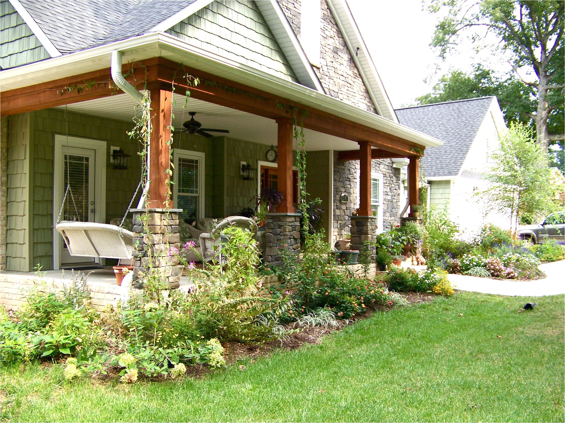 4660 pictures of front porches on ranch style homes