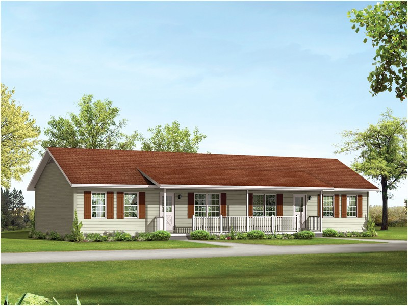 ranch style home plans with front porch