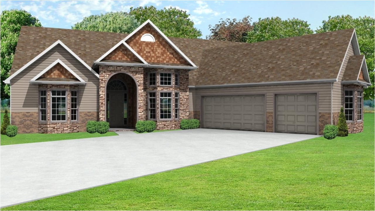 42f1036c00745a4b ranch house plans with 3 car garage ranch house plans with 3 car garage