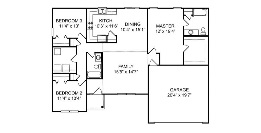 red door homes floor plans