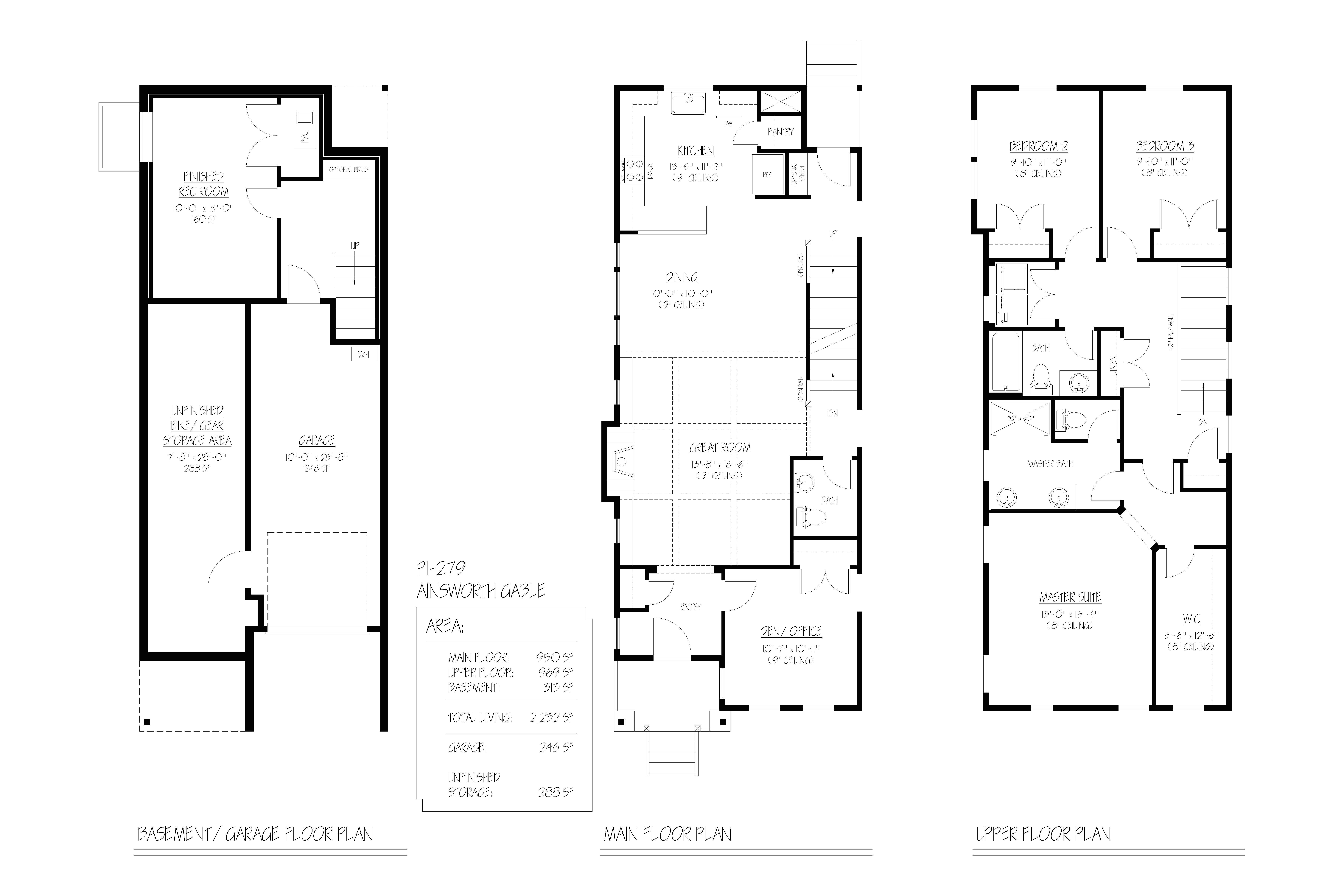 renaissance homes floor plans