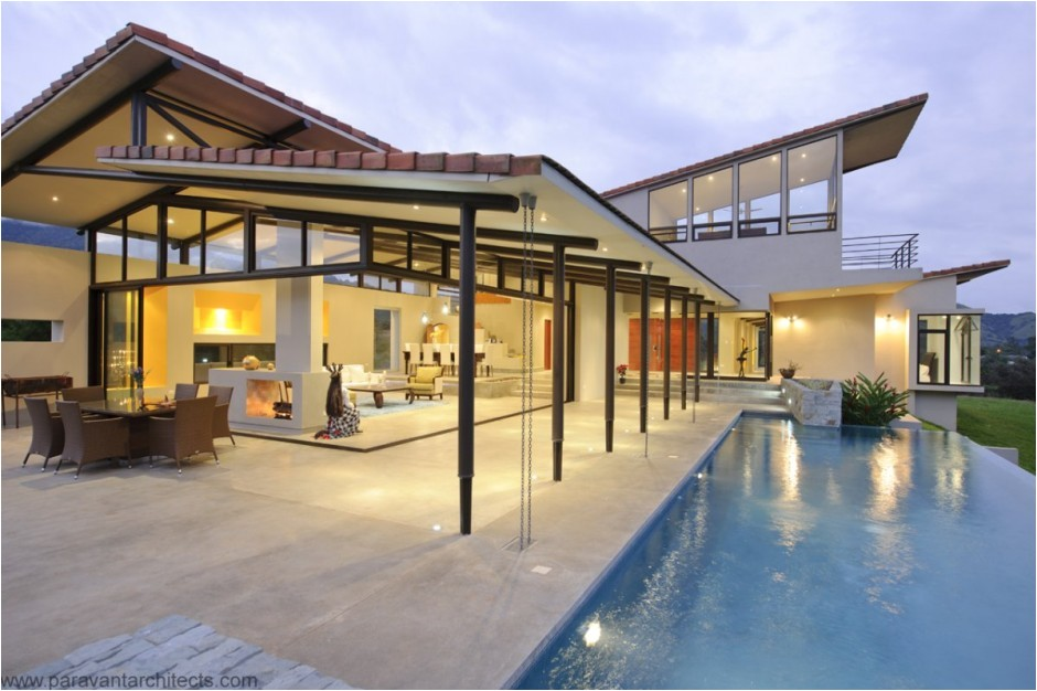 luxury resort style home in costa rica