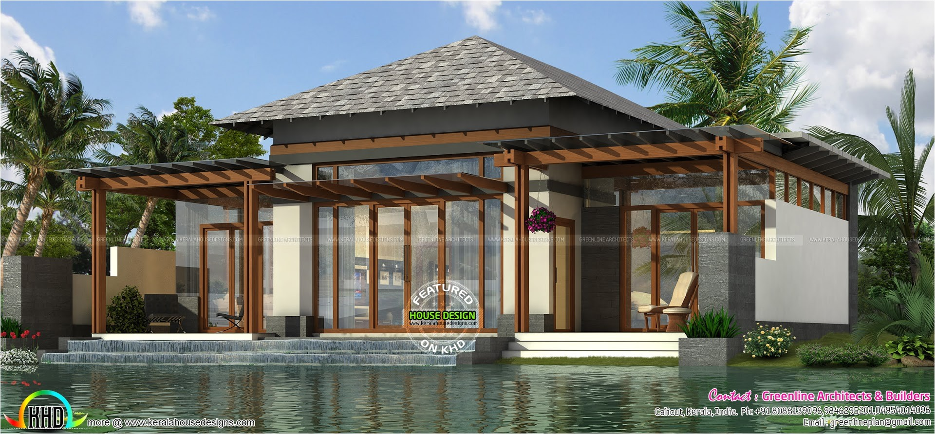 luxury small home plan 1303 sq ft