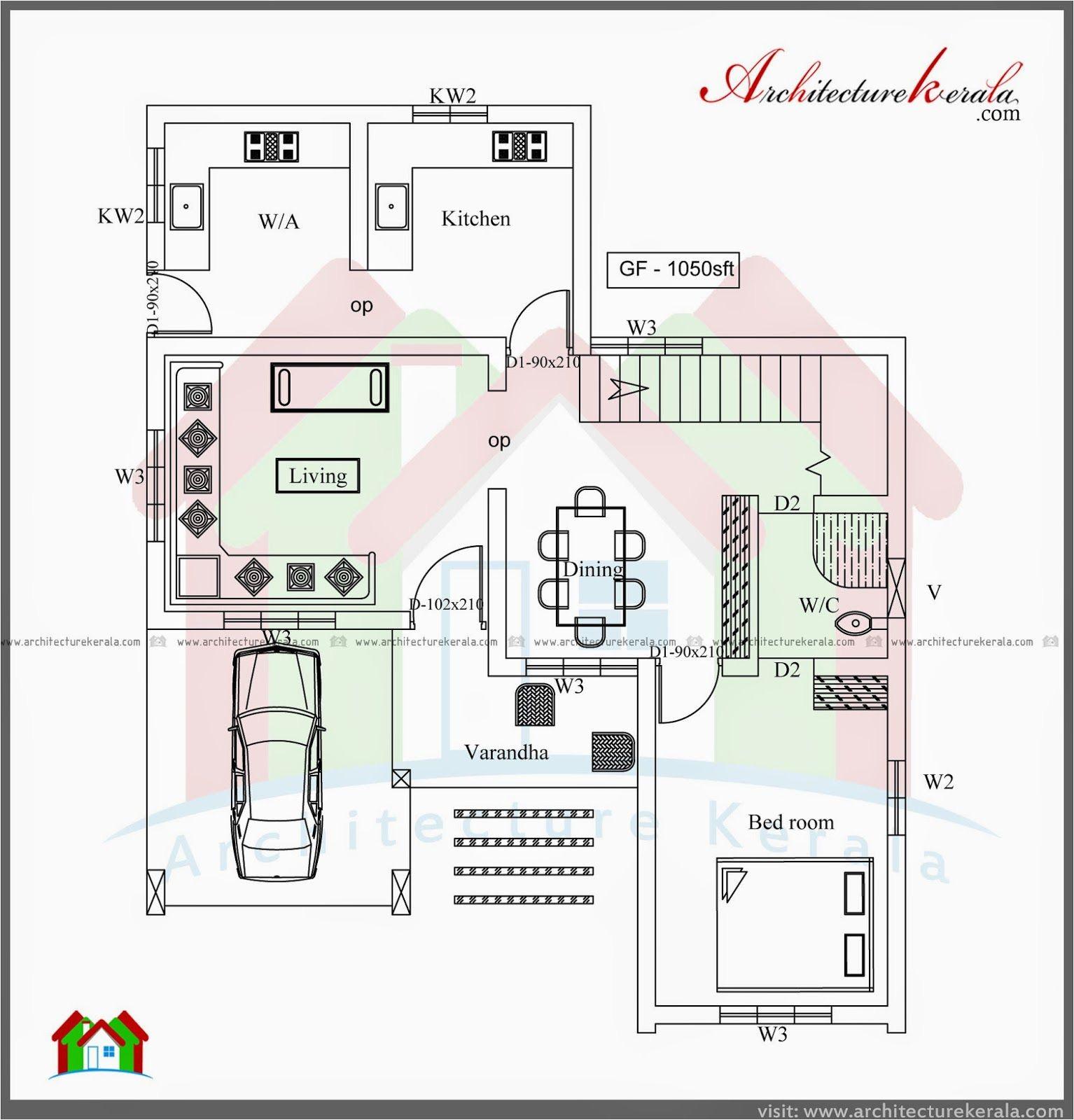 2 bedroom retirement house plans