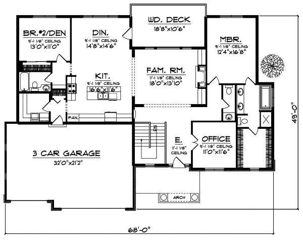 retirement house plans