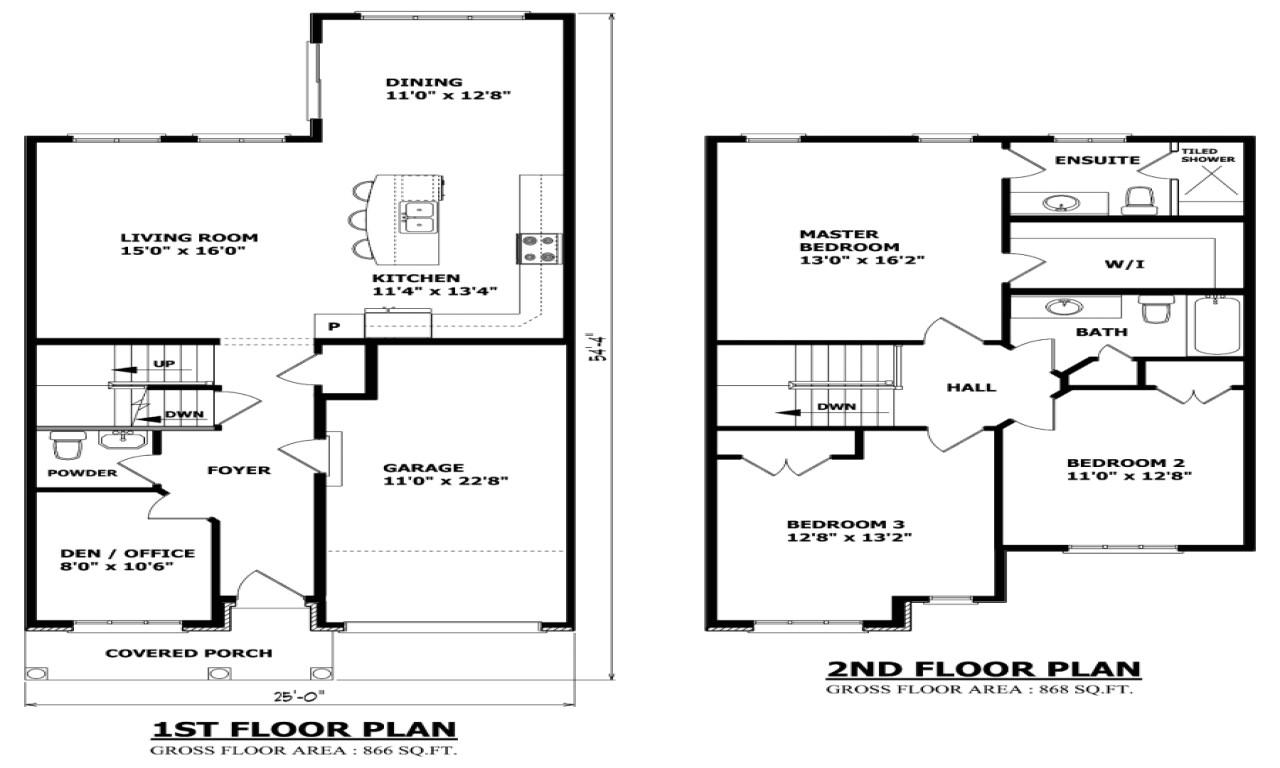 retirement house floor plans