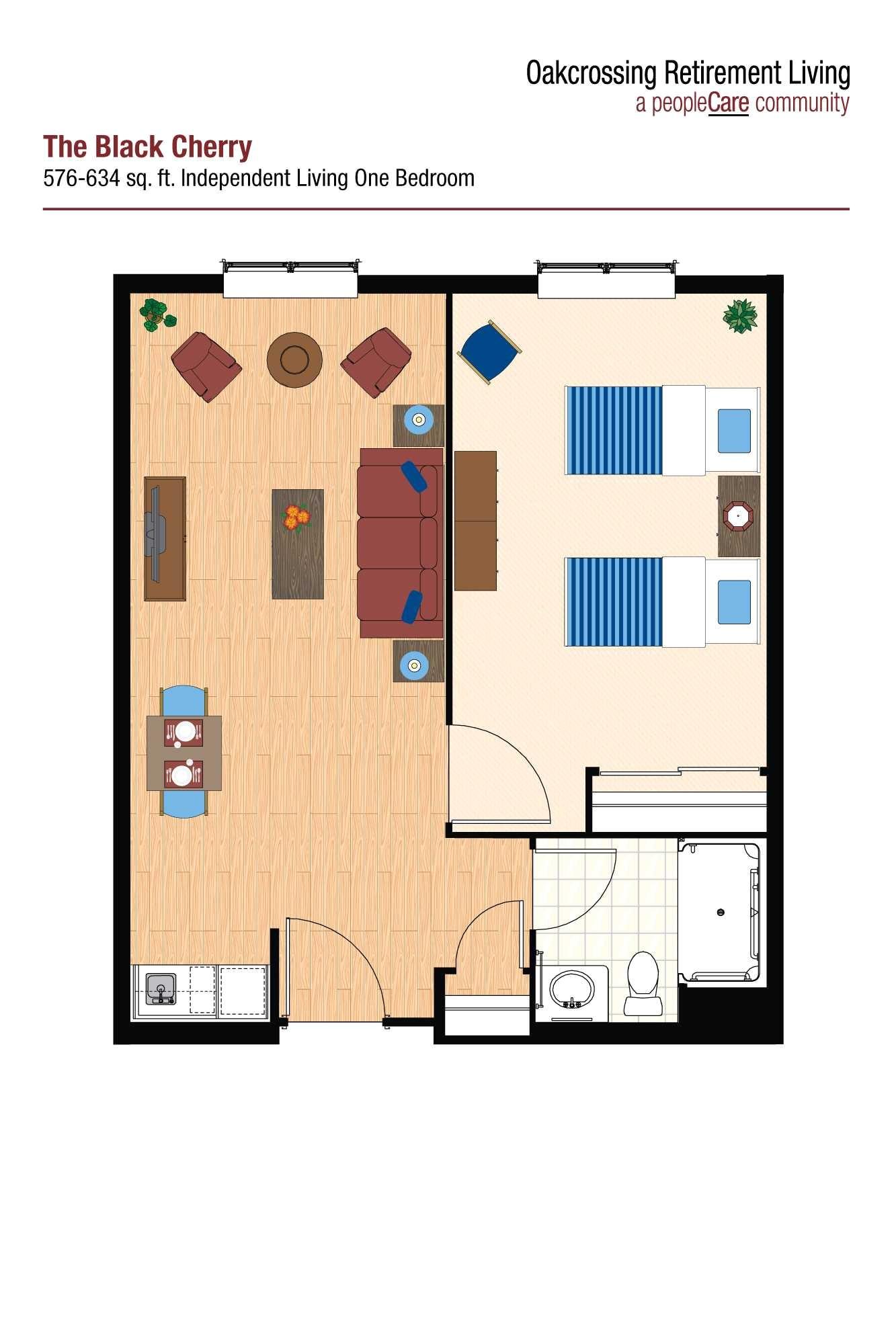 retirement village house plans or oakcrossing retirement living peoplecare