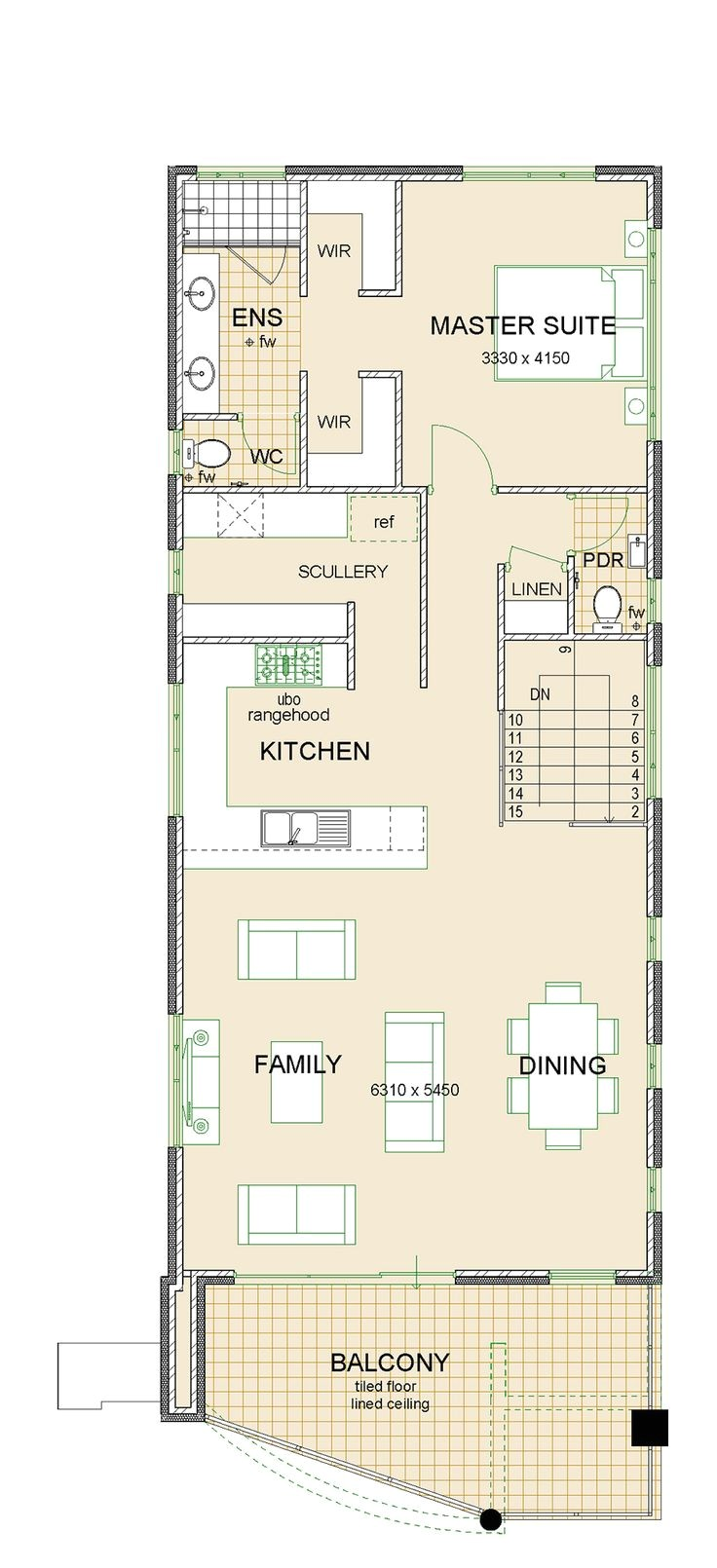reverse living house designs australia