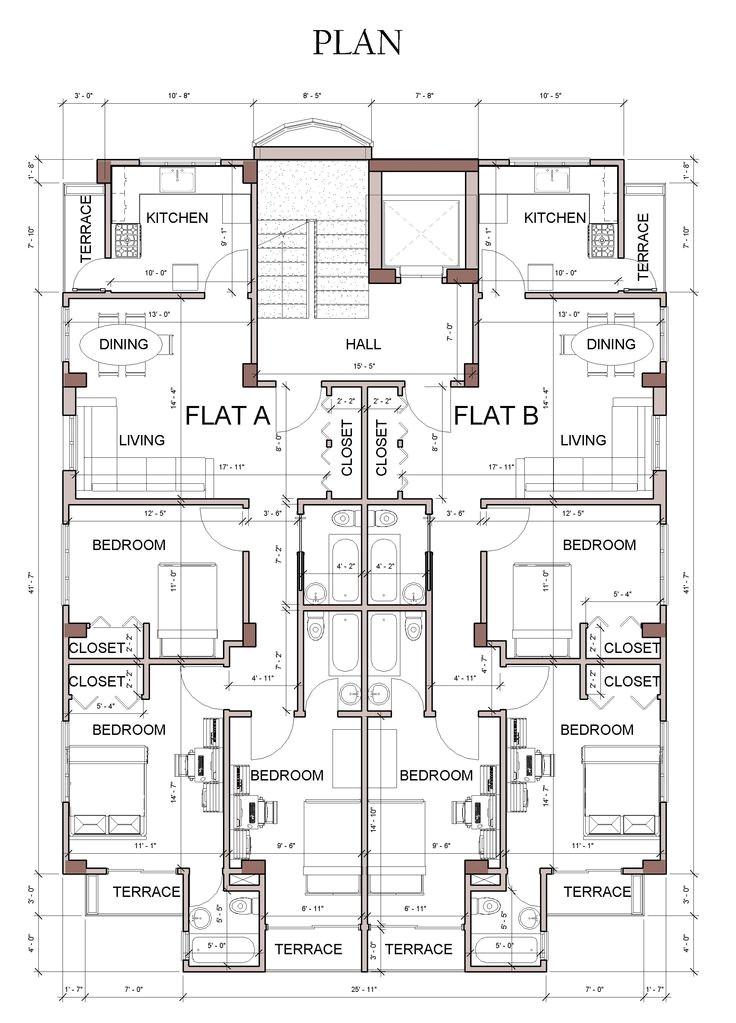apartment house design revit